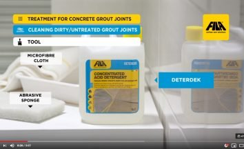 Grout Joints Treatment
